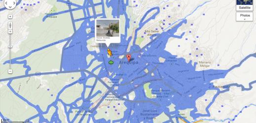 Google Street View arrive au Pérou, poco à poco !